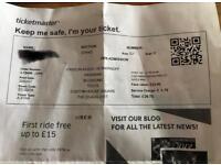Kasabian ticket