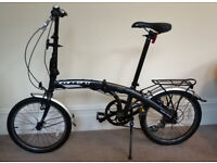 Carrera Interctiy folding bike almost new