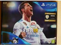 PS4 Fifa18 500gb brand new