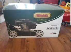 Webb 40cm steel deck petrol mower Brand New!