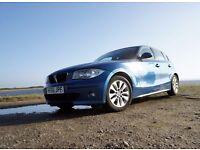 BMW 118D Sport (140 bhp). Very low mileage