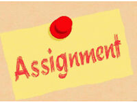 Assignment/ Dissertation/ Essay/ Proposal/ PhD Thesis/ Coursework/ SPSS/ Writing/ Writer/ Tutor Help