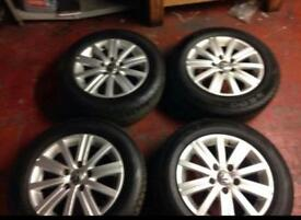 Vw golf alloy wheels 15 inc