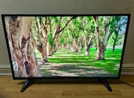Bush 55 inch Smart TV 4K Ultra HD with WI-FI and Freeview HD