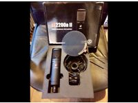 SE 2200a II multi pattern microphone, as new, boxed, ONO