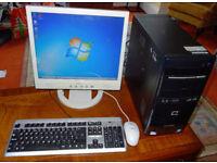 Desktop PC – Compaq Presario – Dual Core 2.60GHz