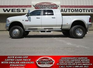 2011 Dodge Ram 3500 LARAMIE MEGA DUALLY, LOAD*BIG LIFT, TIRES &