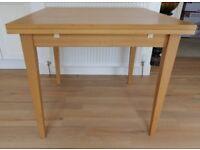 John Lewis light oak Kitchen Table
