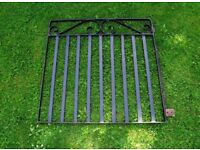Wrought Iron Gate 3ft x 3ft (95cm x 92cm) - Garden / Driveway Antique - ONO