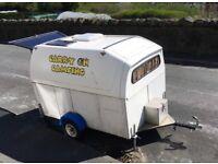 fantastic converted camping trailer