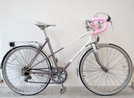 "(3107) 24"" 46cm RALEIGH PANACHE MIXTIE GIRLS WOMEN ROAD BIKE TOURING BICYCLE Age: 11+, 145-160 cm"