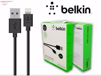 Genuine Belkin 1.2m Lightning USB Cable lead Apple iPhone 6 6S 6 plus 5 5c 5s SE iPad