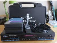 Starsinger 6000 Karaoke Machine With Cordless Microphones & Starter Discs