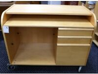 Desk or computer table with drawers