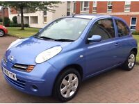 NISSAN MICRA 1.4 AUTO SVE WITH ONLY 17,000 MILES FROM NEW MOT FOR A FULL YEAR