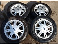 FORD FIESTA ALLOYS WITH TYRES - 175/65/14