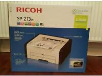 (Boxed & Sealed) Ricoh wireless mono-laser printer,Wifi,Windows 10 compatible
