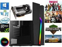 GAMING PC i7 CPU 8GB Ram 1TB Hard Drive Nvidia GTX 1070 8gb Windows 10