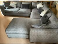 Used mint condition corner couch