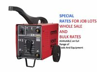SEALEY 200XTD ARC WELDER 200AMP WITH ACCESSORY KIT