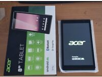 "Acer 8"" Android 10 Tablet 16GB Grey"