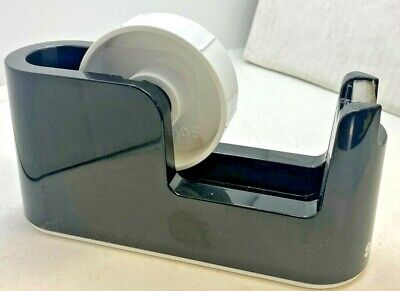Scotch Heavy Duty Weighted Desktop Tape Dispenser 1 3 Core Plastic Black C24