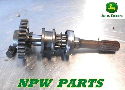 John Deere 770 790 3005 4wd Input Shaft M803115 And Gear M803117