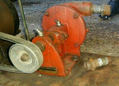 Ward Cat 87-5534 Red Cast Iron Belt Drive Water Irrigation Pump 12 X 14 11-16