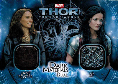 Sif Costume (Thor Dark World DMD-3 Costume Memorabilia Card Jane Foster &)