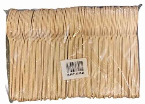 Wooden Cutlery Spoon 5 1/2 in Pack of 100