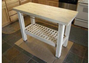 IKEA island butcher kitchen table