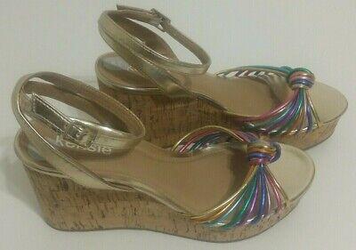 Womens Wedge Heel Sandals Size UK 4.5 Kensie