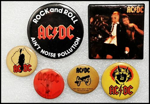 AC/DC Lot Of 6 80