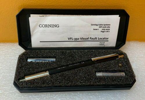 Corning VFL-350  Flashing Visible Laser Light, 2.5mm, Visual Light Locator. New!