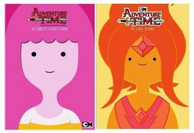 Cartoon Networks: Adventure Time season 7- 8 DVD US SELLER