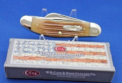 Case XX knife Tony Bose Sowbelly knife Gingerale bone 2013 TB6339 SS Rare 1of100