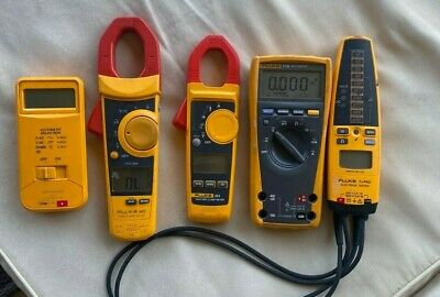 Lot 5 Fluke T Pro 902 324 77iv 7-600. For Parts Or Not Working
