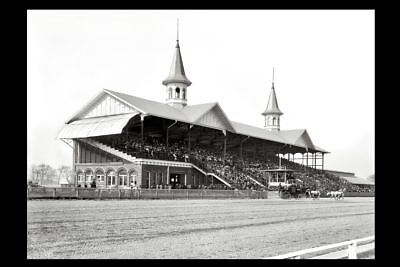 1901 Kentucky Derby PHOTO, Churchill Downs Racetrack, Horse Racing HIS EMINENCE - Horse Racing Photo