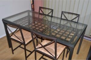 IKEA Granas dining room table with chairs