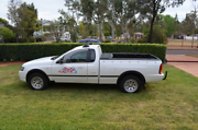 Ford Falcon RTV ute, 2007 dedicated LPG, many extras Wattle Grove Liverpool Area Preview