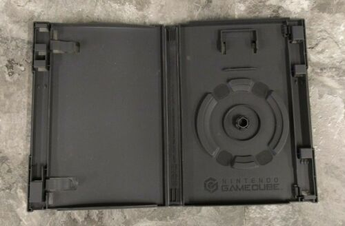 OEM Nintendo GameCube Empty Replacement Game Cube Case Box w/ Memory Card Holder