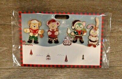 Disney Trading Pin Shanghai Shellie May Gelatoni Duffy Christmas LE 800 Set