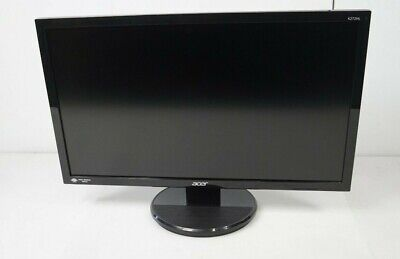 "Acer K272HL 27"" 1920 x 1080 Widescreen DVI VGA LED Monitor Fair w/ Stand"