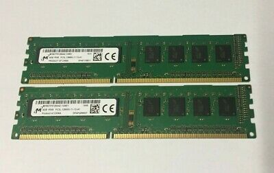 8GB (2X4GB) DDR3 PC3-12800U Desktop Memory for DELL HP Lenovo Acer Matched Pair