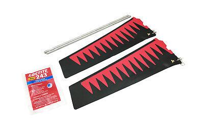 Hobie Mirage ST V2 Turbo Fin Kit - Red/Black Color - 72066021 Hobie Mirage Turbo Fin