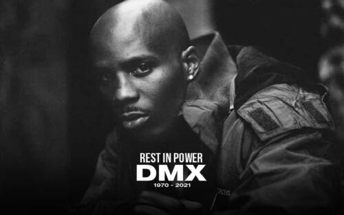 """DMX MEMORIAL FRIDGE MAGNET 5"""" X 3.5"""""""