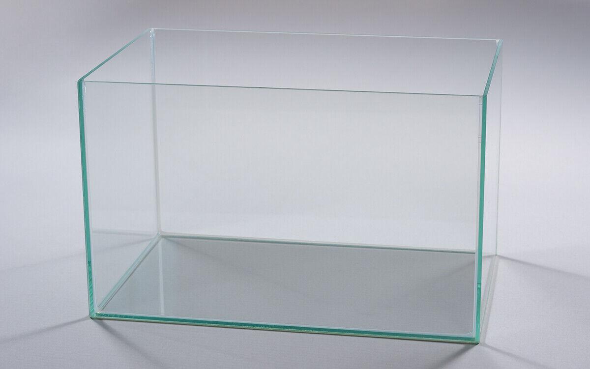 Aquarium Glasbecken Tranparent  Wasser Fisch Tank Top & Neu