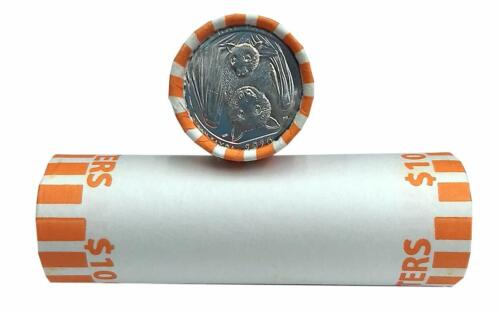 ATB 2020 AMERICAN SAMOA SEALED P MINT MARK ROLL OF 40 DIRECTLY FROM BANK