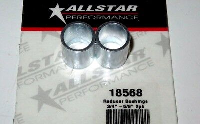 Allstar Heim Joint Rod End Reducer Bushing 34 OD to 58 ID Steel 2 pk