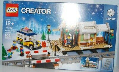 LEGO CREATOR EXPERT SET Christmas Train Winter Village Station 10259 New Sealed